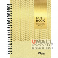 S7525 - Ring Note Book A5 70's 80gsm