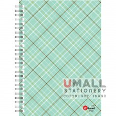 S7532 - RING NOTE BOOK - HARD COVER