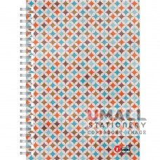 S7533 - RING NOTE BOOK - HARD COVER