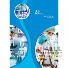 S8012 - A4 Science Practical Note book Malaysia Penang Online Stationery Store