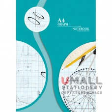 S8014 - A4 Graph Note Book Malaysia Penang Online Stationery Store