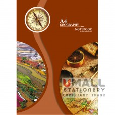 S8015 - A4 Geography Note Book Malaysia Penang Online Stationery Store