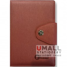 S8303 - Ring Note Book Cream Colour Inner with Ruled Lines