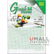 S85 - GRAPH PAPER - Both Sides A4 48's