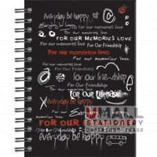S8523 - Ring Note Book HIGHLIGHT COL PAPER