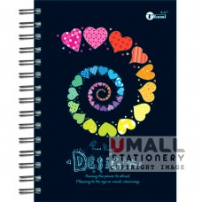 S8534 - Ring Note Book CYBER COL PAPER