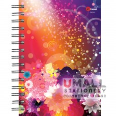 S8539 - Ring Note Book PASTEL COL PAPER