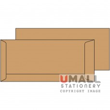 BROWN ENVELOPE 4 X 9, Packing: 25pkts