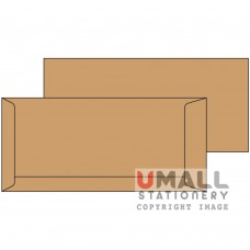 BROWN ENVELOPE 4.5 X 9.75, Packing: 25pkts