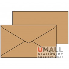 BROWN ENVELOPE 6 X 3.5, Packing: 25pkts