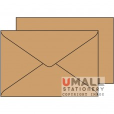 BROWN ENVELOPE 6.25 X 4.25, Packing: 25pkts