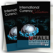 SCA111 International Currency Collection, 6pcs/pack