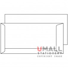 WHITE ENVELOPE 4.25 X 8.75, Packing: 25pkts