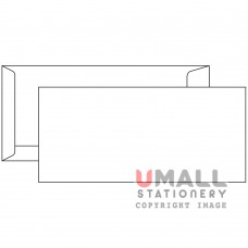 WHITE ENVELOPE 4.5 X 9.75, Packing: 25pkts