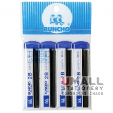 BUNCHO 2B Mechanical Pencil Lead (pack of 4)