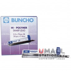 BUNCHO 2B Mechanical Pencil Lead (pack of 24)