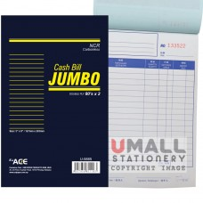 "U5885 - JUMBO CASH BILL (NCR), 5"" x 8"", 2 ply"