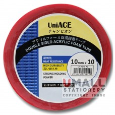 UniACE DOUBLE SIDED ACRYLIC TAPE 10mm X 10