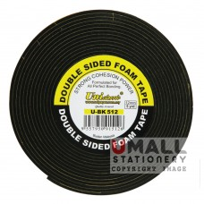 UniCLASSIC DOUBLE SIDED FOAM TAPE 12mm x 5y