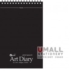 S3353 - ART DIARY (Perforation) - A4, 300gm