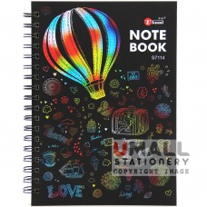 S7114 - Ring Note Book CYBER COL PAPER