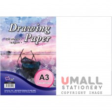 S1657 - DRAWING PAPER A3 165gm