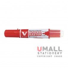 PILOT WYTEBORD MARKERS - V BOARD MASTER - Red, Packing: 12pcs/box