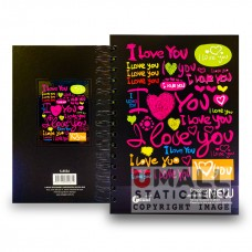 S8536 - Ring Note Book CYBER COL PAPER