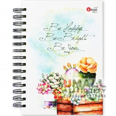 S8553 - Ring Note Book A5 (Assorted colour papers)
